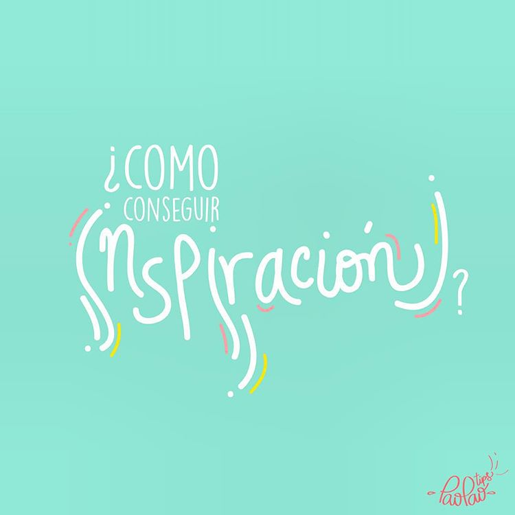 cómo conseguir inspiración