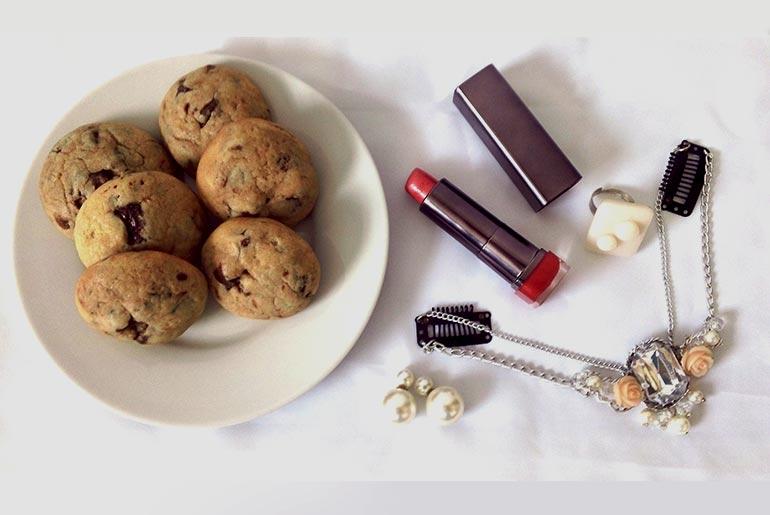 receta galletas choco chips