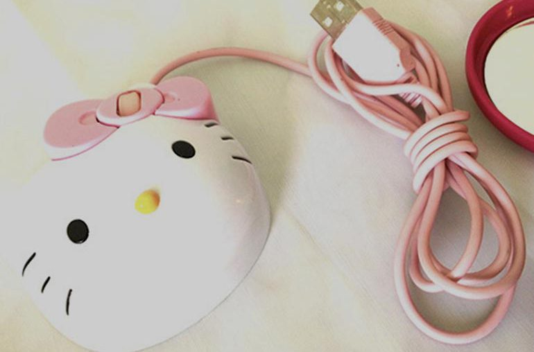 mouse hello kitty