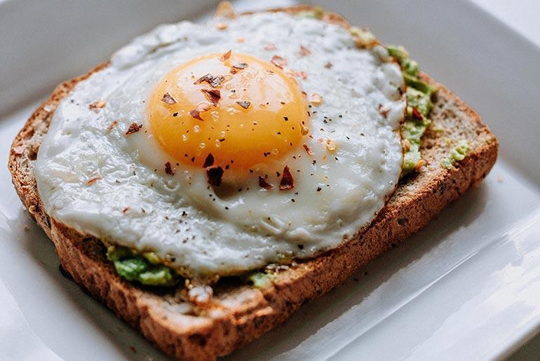 huevos de desayuno