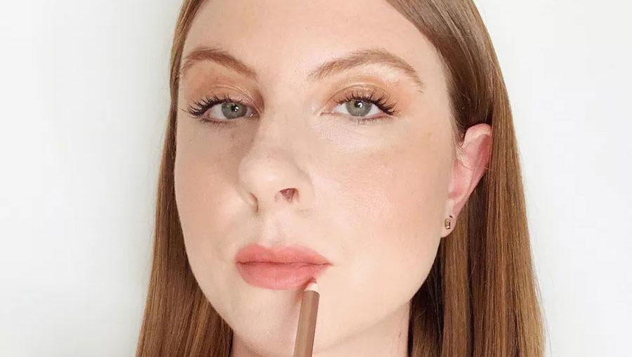 labios más grandes con maquillaje